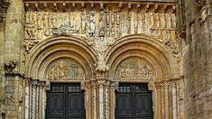 Diez joyas imprescindibles del románico español. Puerta de las Platerís de la Catedral de Santiago (Santiago de Compostela)