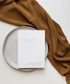 """Minimal styled paper goods by @yuth_co styled with """"The Scout"""" Silk Scarf in ORO 