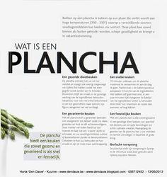 Horta Dendauw Kuurne: Koken op een 'Plancha' !