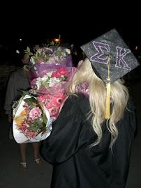 when i graduate, totes putting my letters on my cap