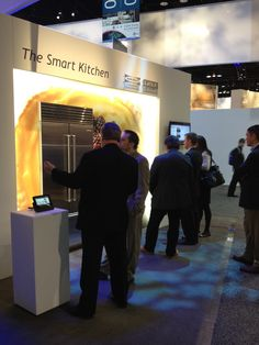Getting an up-close look at the @Control4, Sub-Zero and Wolf Smart Appliance technology at KBIS 2012