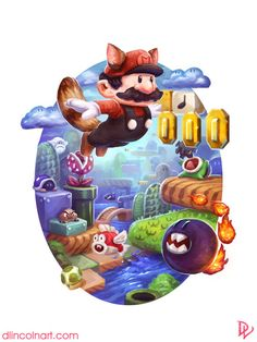 Super Mario Bros. 3 - Created by Dustin Lincoln