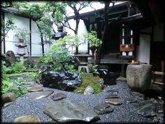 四条京町家/京都の坪庭、露地庭/京都の庭園/造形礼賛