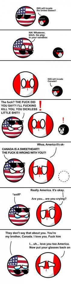 poor american boll - AWW - - And Iiieyiiieyiii will always love youuouuuuuouu! poor american boll The post And Iiieyiiieyiii will always love youuouuuuuouu! poor american boll appeared first on Gag Dad. Latin Hetalia, Funny Cute, The Funny, Funny Jokes, Hilarious, History Memes, Funny Comics, Comic Strips, Dankest Memes