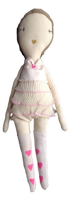 Jess Brown Wovenplay Francoise Doll // poppyscloset.com