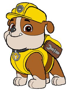 How to Draw Rubble Paw Patrol - An easy, step by step drawing lesson for kids. Another free Cartoons for beginners step by step drawing video tutorial. Paw Patrol Marshall, Paw Patrol Party, Paw Patrol Birthday, 3rd Birthday Parties, Boy Birthday, Birthday Ideas, Personajes Paw Patrol, Paw Patrol Clipart, Paw Patrol Cartoon