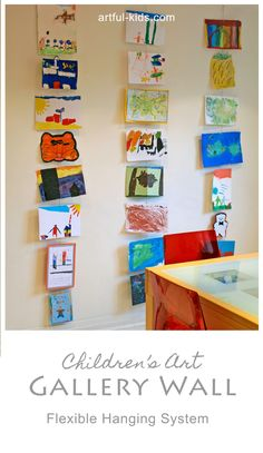 Gallery Wall - Flexible hanging system for children's Art