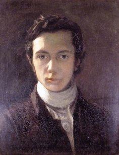 Self portrait of William Hazlitt, Romantic critic