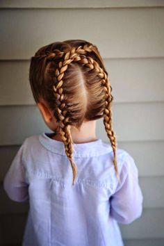kid's braids