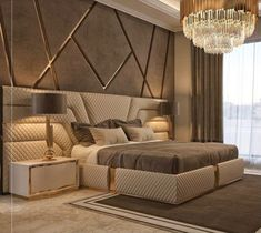 Modern Luxury Bedroom, Luxury Bedroom Design, Master Bedroom Interior, Modern Master Bedroom, Bedroom Furniture Design, Master Bedroom Design, Luxurious Bedrooms, Luxury Bedrooms, Design Room