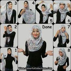 Super How To Wear A Scarf Muslim Hijab Tutorial Ideas How To Wear Flannels, How To Wear Blazers, How To Wear Scarves, Muslim Fashion, Hijab Fashion, 20s Fashion, Jeans Fashion, Fashion Hacks, Ladies Fashion