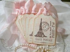 Handmade Gift Tags French Market