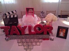 Hollywood Theme Bar Mitzvah Party Ideas   Photo 4 of 21   Catch My Party