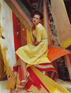 Some Colorful Inspiration - Tim Walker for Vogue UK (5 Photos) - My Modern Metropolis
