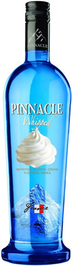 Whipped Vodka. Mix it up with Sunkist and it tastes just like a dreamsicle. Yum-O!