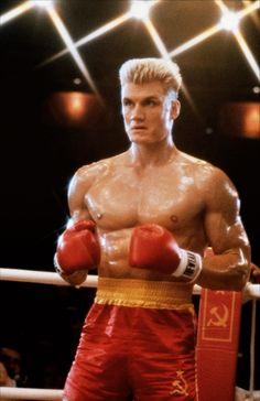 Ivan Drago. (Dolph Lundgren) Rocky 4... I vill break you! Film Images, Jodie Foster, Arnold Schwarzenegger, Rocky Series, Rocky Film, Normal Movie, 2 Movie, 80s Movies, Action Movies