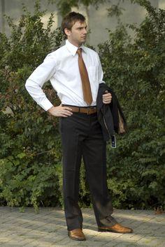 Black suit, printed tie, and brown shoes | Suit | Pinterest | Ties