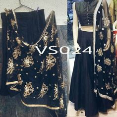 Black beautifully handwork dupatta lehenga choli  Product Info : Raw silk silk semi stitch Lengha up to waist size 38 Length 42  Stitching style kali  Blouse unstitched fabric raw silk with front stone button 10 and pearl lace  Dupatta - soft nett with handwork butta work with pearl border  Colors can be changed  Made to order - one week  Sale Price : 4250 INR Only ! #Booknow  CASH ON DELIVERY Available In India !  World Wide Shipping ! ✈  For orders / enquiry 📲 WhatsAp..