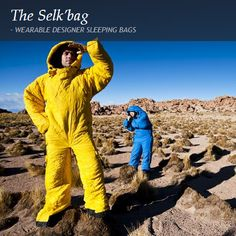 The Selk'bag - Wearable Designer Sleeping Bags Fresh Outfits, Sleeping Bags, Buy Shoes, Cool Suits, Best Brand, Quirky Products, Fashion Online, Fashion Accessories, Geek Stuff
