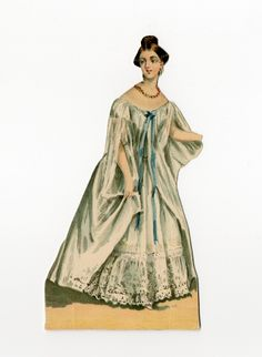 86.3094: Queen Victoria | paper doll | Paper Dolls | Dolls | National Museum of Play Online Collections | The Strong