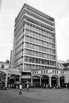 Picache Building in Quiapo, Manila by Angel Nakpil Filipino Architecture, Philippine Architecture, Architecture Design, Manila, Philippines, History, Building, Architects, Nostalgia