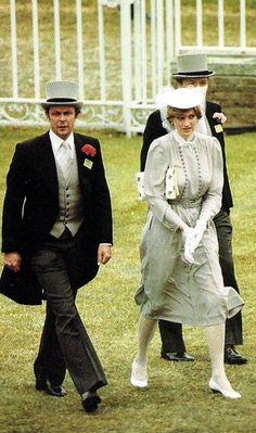 June 19, 1981: Lady Diana Spencer at Royal Ascot.
