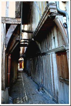 ruelle à Troyes