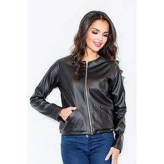 Now available on our store: Black jacket with... Check it out here! http://coco-glam-boutique.myshopify.com/products/jacket-with-zipper-fastening-1