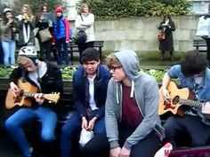 One Direction's support for the Take Me Home tour, check out my video please!! They're amazingly talented and humble boys from Australia!    Heartbreak Girl (Live Acoustic) - 5 Seconds Of Summer - Marble Arch London 5SOS