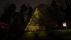LED jouluvalot lipputankoon ja pihan valaistukseen - LED lights for Xmas and flag pole