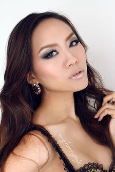 Asian makeup inspired by Japanese singer Koda Kumi