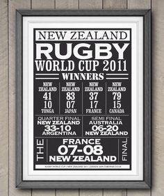Printable NZ Rugby Print Special Edition Winners by SamOssie, Rugby Cup, Rugby World Cup, Rugby Rules, Rugby Union Teams, Welsh Rugby, All Blacks Rugby, Rugby Sport, New Zealand Rugby, Printables