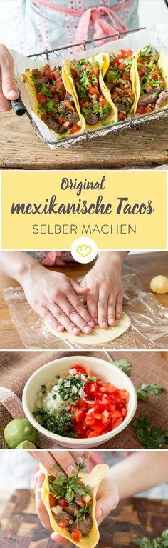 Das perfekte Fingerfood für einen mexikanischen Abend? Tacos. Mit selbstgemachten Tortillas und verschiedenen Füllungen ideal für viele…