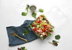 Easy Packable Lunchbox Salads: Italian Chopped Salad — Miss Molly Vintage