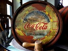 View Item: RARE Coca Cola Wooden Kegs - Cap.5 Gallons Syrup with Spigots Qty (1)