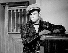 Marlon Brando in 'The Wild One', 1953