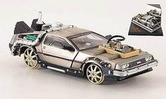 DeLorean DMC 12 Back to the Future III Model Car Ready-made Vitesse 1:43 @ niftywarehouse.com #NiftyWarehouse #BackToTheFuture #Movie #Film #Movies #Gifts