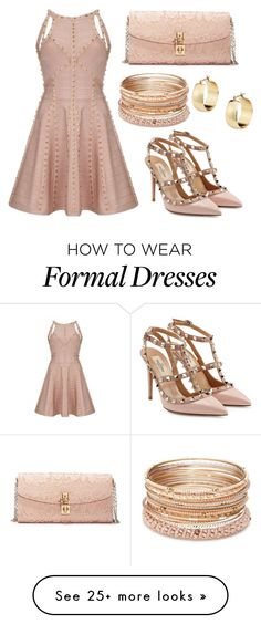 """Formal"" by missolivetree on Polyvore featuring Valentino, Dolce&Gabbana and Red Camel"