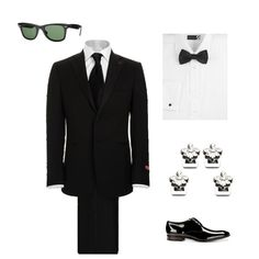 A dashing men's outfit for our Prom Night mission