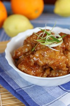 Orange Chicken - Ang Sarap