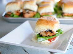 On a busy weeknight, who couldn't use a trip to Hawaii? Go there with this recipe for Aloha Chicken Sliders. Sweet and savory come together for any occasion!