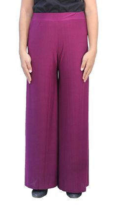 Romano Stylish Purple Palazzo * This is an Amazon Affiliate link. To view further for this item, visit the image link.