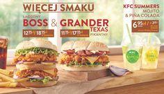 KFC Boss i KFC Grander Texas