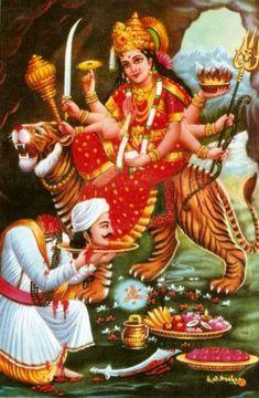 Durga ~ Reawaken the Remembrance Durga Images, Lord Krishna Images, Kali Goddess, Mother Goddess, Durga Maa, Shiva Shakti, Navratri Images, Lord Shiva Family, Hindu Mantras