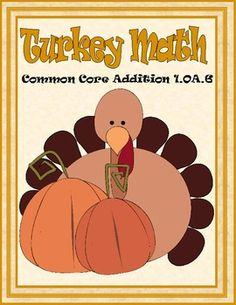 Turkey Common Core Addition Game