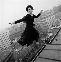 6d6a86f0a076 Fly Dior, Paris Harper s Bazaar, March 1965 Photographer  Melvin Sokolsky  Model  Dorothea McGowan Christian Dior, Spring 1965