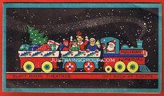 JusTrains Railroad Art, Antiques & Philately : EP0056 BLATT BROS. THEATRES, Christmas Ticket Book c1950s - Train Theme!
