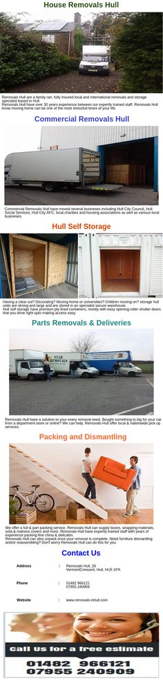 Commercial Removals Hull have moved everything from home offices to local solicitors and employment agencies. We are fast, discreet and value for money.