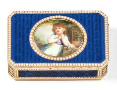 Jean-Georges Rémond, was active in Geneva from 1783 until approximately He became Master Goldsmith on 22 December 1783 Muse Of Music, Box Maker, Bird Boxes, Jewelry Drawing, Victoria And Albert Museum, Makers Mark, Modern Art, Childhood, Enamel