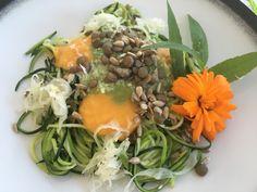 Ayurvedic Rawfood från ett av våra yoga och mindfulness retreat på Salthamn Gotland